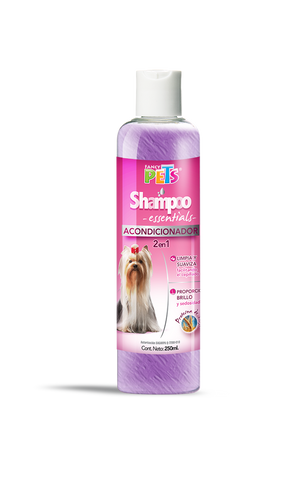 Shampoo Fancy Pets Essentials Acondicionador 2 en 1