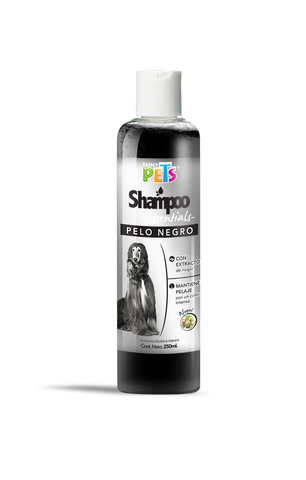 Shampoo Fancy Pets Essentials Pelo Negro