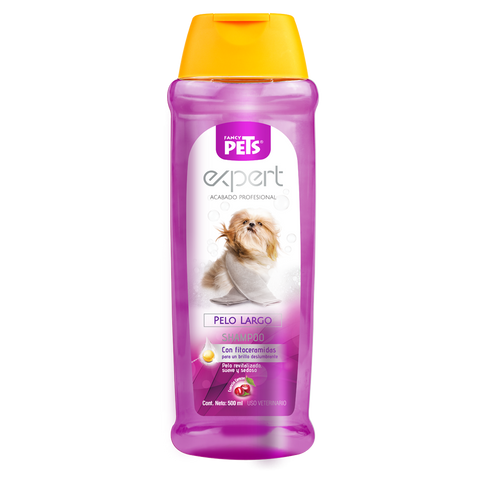 Shampoo Fancy Pets Expert Pelo Largo