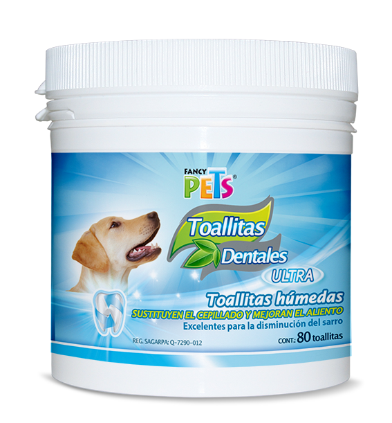 Toallitas Fancy Pets Dentales Ultra