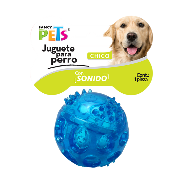 Juguete Fancy Pets Pelota Flexible Con Sonido