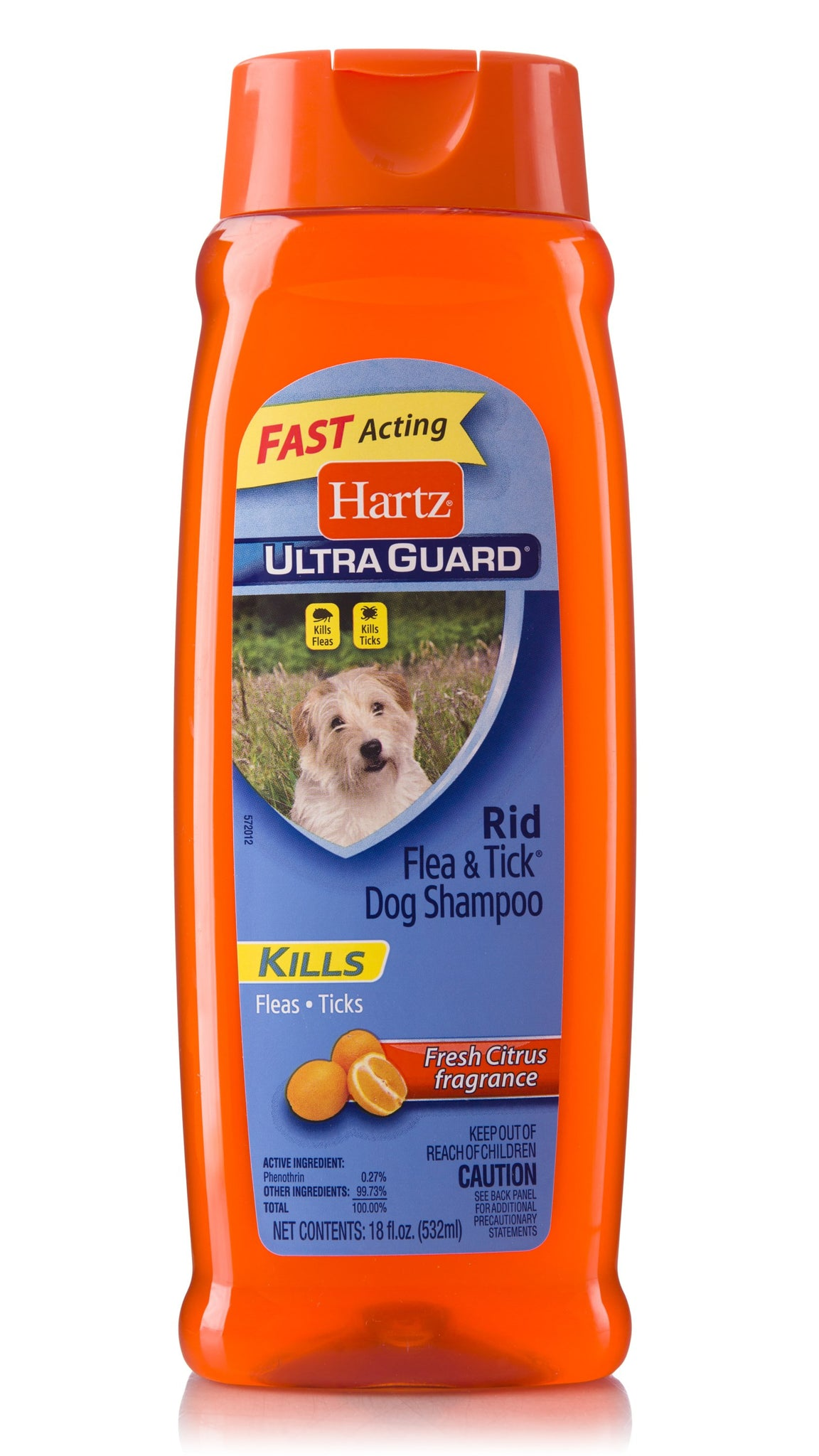 Shampoo Hartz Ultra Guard Antipulgas Citrus