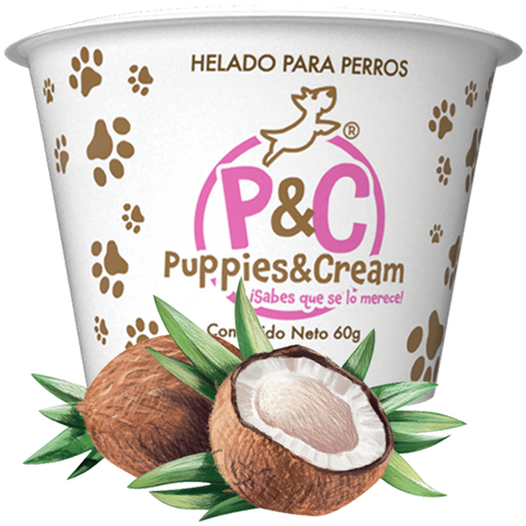 Helado Puppies&Cream Coco