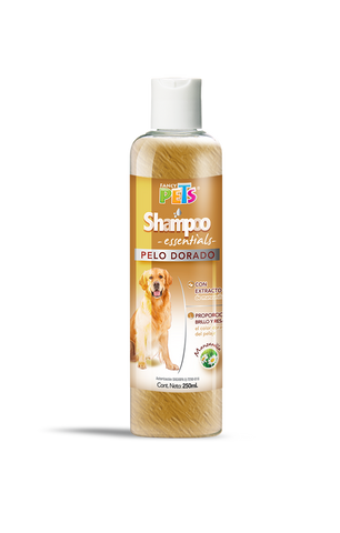 Shampoo Fancy Pets Essentials Pelo Dorado
