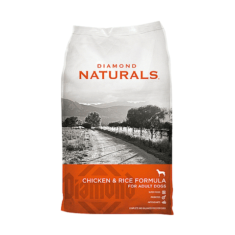Alimento para perro Diamond Chicken & Rice Adult Dog Naturals