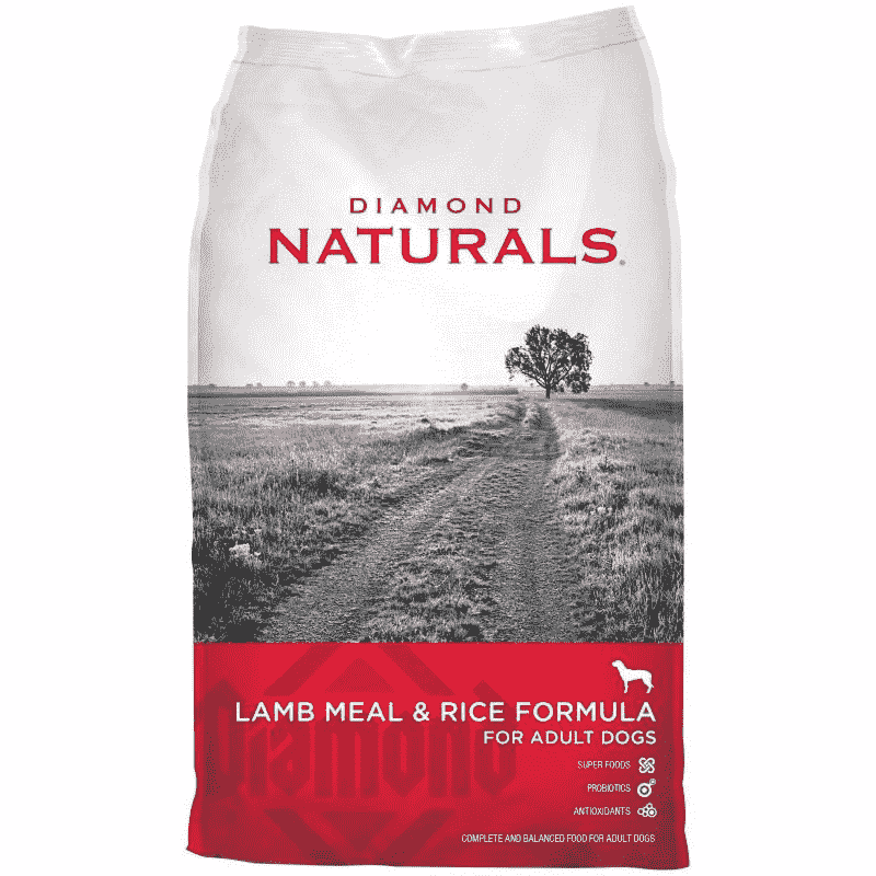 Alimento para perro Diamond Lamb Meal & Rice Naturals