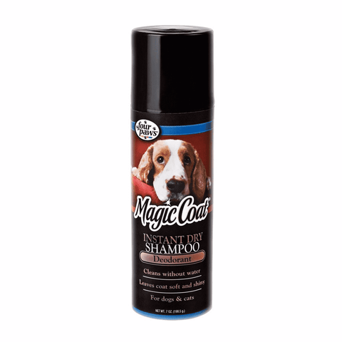 Shampoo Desodorante para perro Four paws Magic Coat Instant Dry