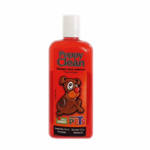Shampoo para cachorros Fancy Pets Puppy Clean great cherry