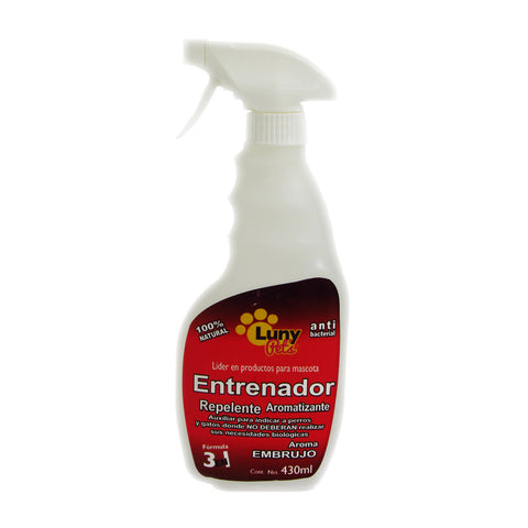 Luny Pet's Repelente para perros y gatos aroma embrujo 430ml