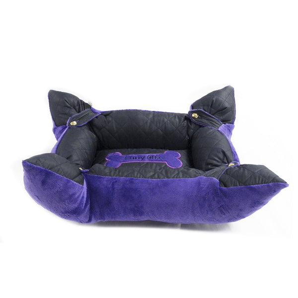 Cama Luny Pet's Tapete 4 en 1