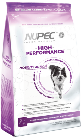 Alimento NUPEC Activo Adulto High Performance