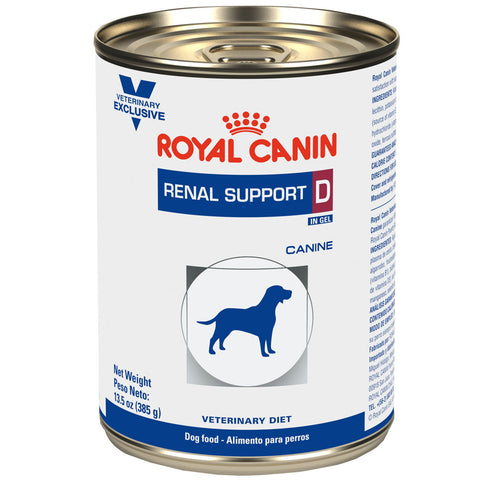 Royal Canin Renal Support D Canine Lata