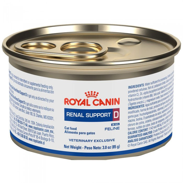 Alimento Royal Canin Renal Support D Mig Feline Lata