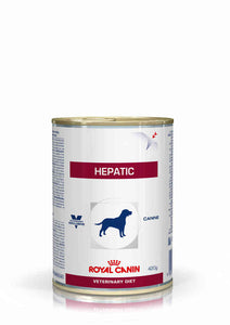 Alimento Royal Canin Hepatic Canine Lata