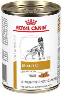 Alimento Royal Canin Urinary SO Moderate Calorie Lata 355g