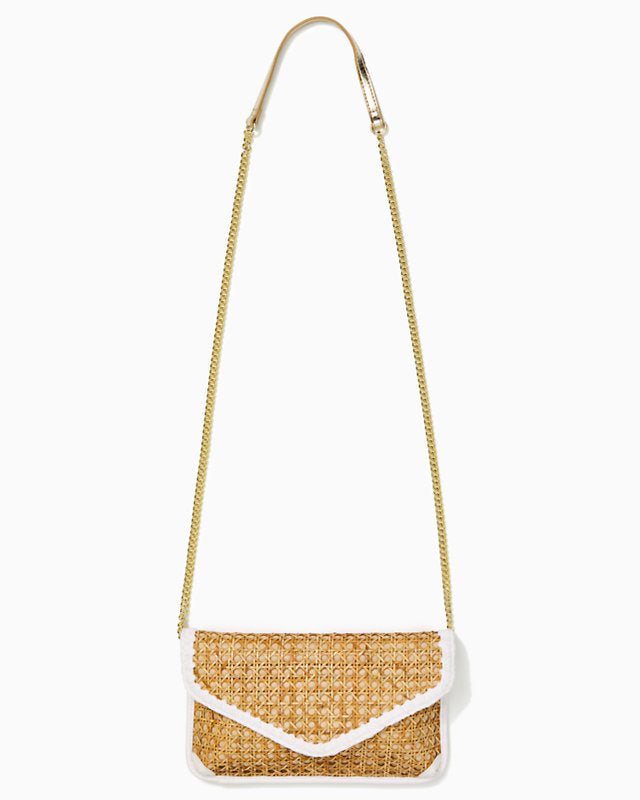 St. Barts Cane Clutch