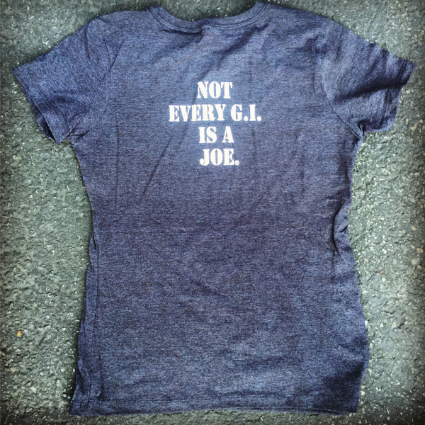 """Not Joe""  Ladies Crew Tee"