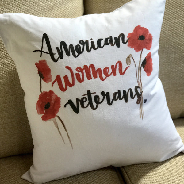 Red Poppy Pillow Case