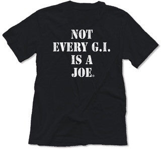 """Not Joe"" Unisex Vintage Tees"