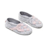 Lille Elskling girls felt slipper light grey/pink