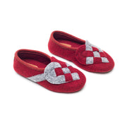 """Lille Elskling"" Girls Felt Slippers 
