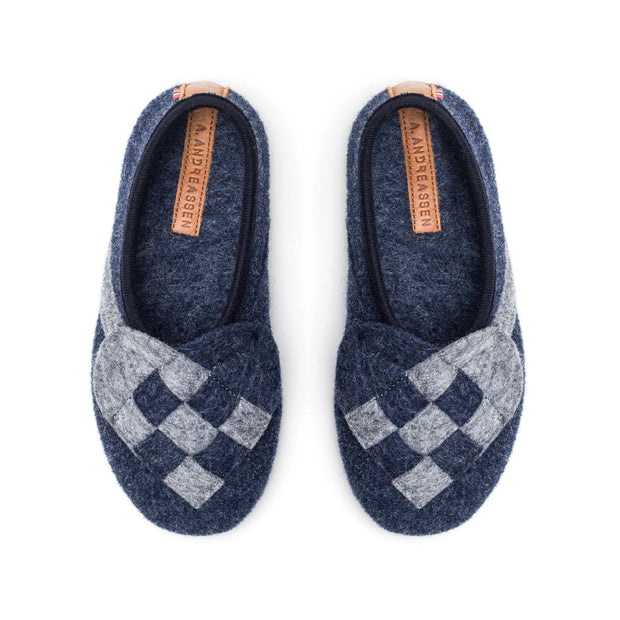 """Lille Elskling"" Girls' Felt Slippers 