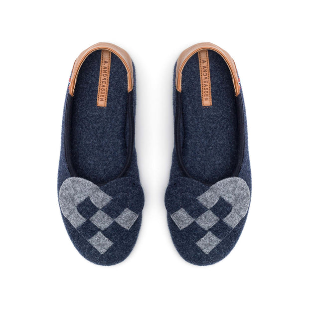 Elskling Felt Slippers | Blue