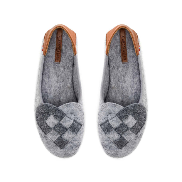 Elskling Slipper | Felt | Light Grey