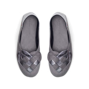 Elskling Slipper | Soft Leather | Slate Grey