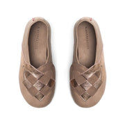 """Lille Elskling"" girls leather slippers 