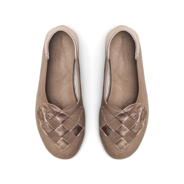 Elskling Slipper | Soft Leather | Taupe