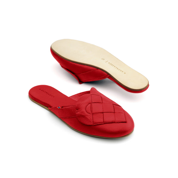 """Elskling"" Leather Mules 