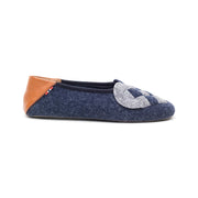 Elskling Slipper | Felt | Blue