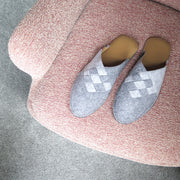 Henrik | Slipper | Wool Felt | Grey