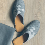 Henrik | Men's Slipper | Wool Felt | Grey
