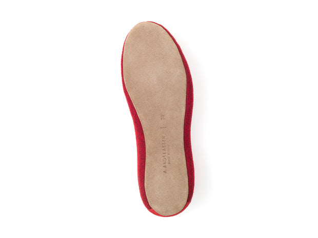 Elskling Slipper | Felt | Lingonberry