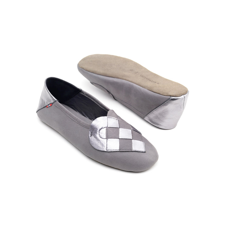 """Elskling"" Leather Slippers 
