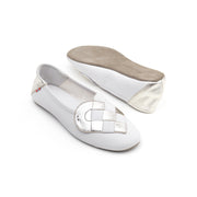 Elskling Slipper | Soft Leather | Ice White