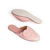 Elskling Leather Mules Blush
