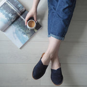 Henrik | Mule Slipper | Nubuck | Midnight Blue