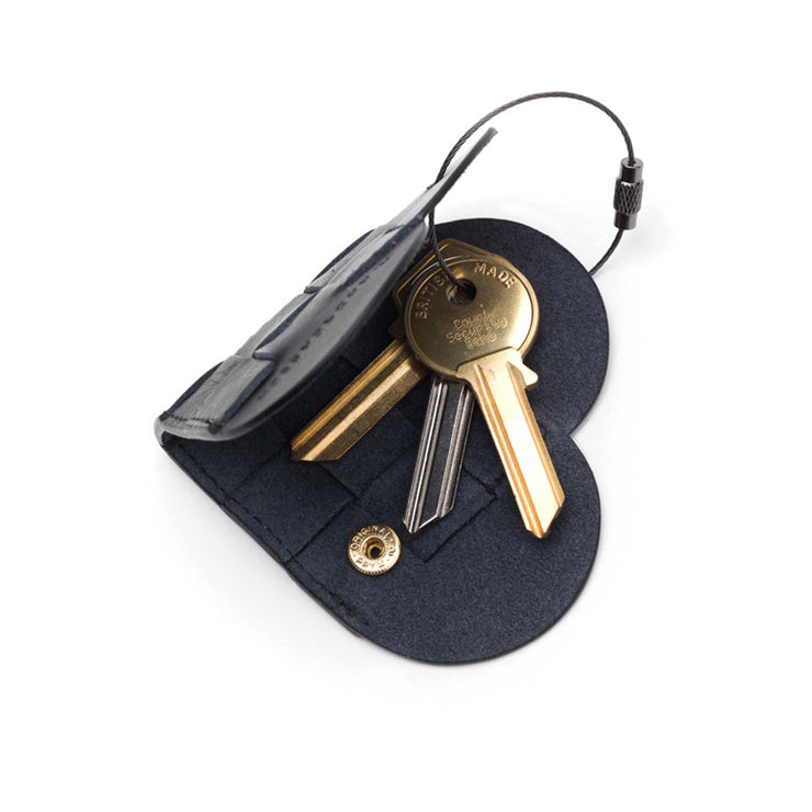 Elskling Key Ring | Leather | Black
