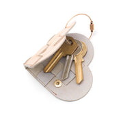 Elskling Key Ring | Leather | Rose Gold