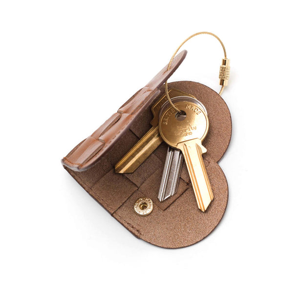 Elskling Leather Key Ring | Tan