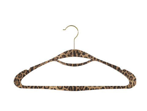 Fierce Leopard Couture Hangers - Set of 8