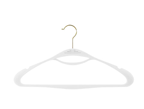 Winter White Couture Hangers - Set of 8