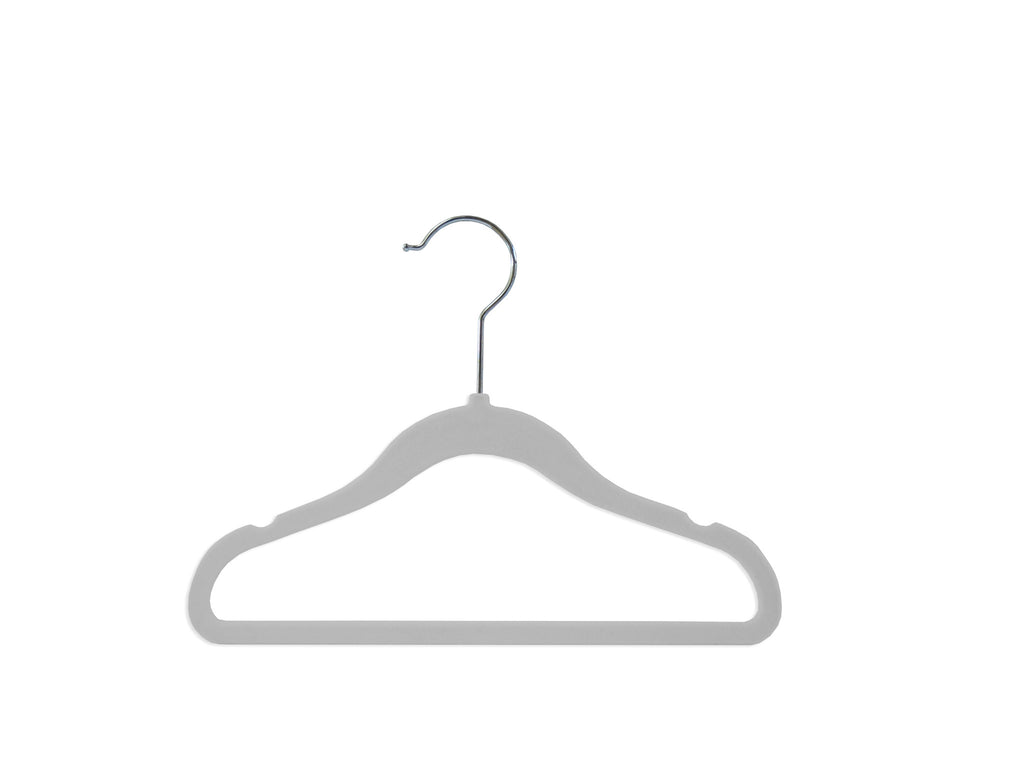 Cloud Grey Nursery Hangers - Set of 6