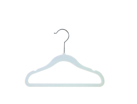 Marshmallow Blue Nursery Hangers - Set of 6