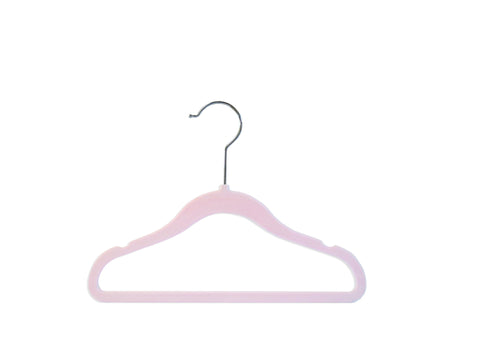 Chiffon Pink Nursery Hangers - Set of 6