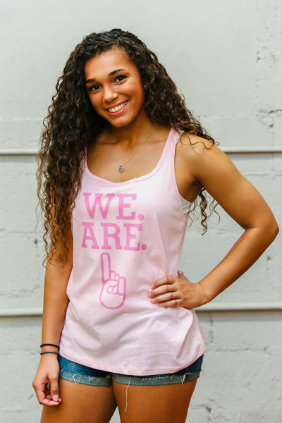 Ladies Relaxed Jersey Tank - Pink
