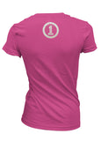 We Are One - Pink V-Neck Ladies T-Shirt